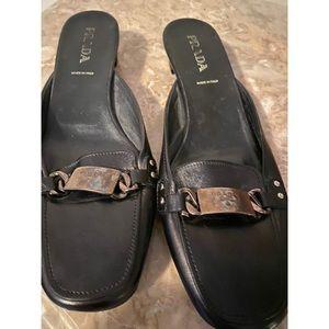 Prada mule/slides